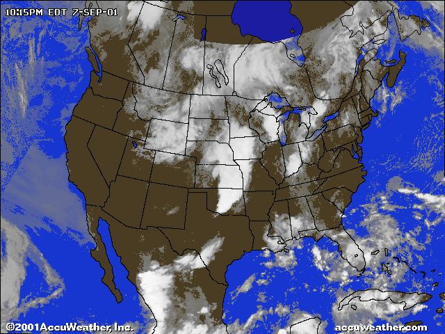 US Radar - Us satellite weather map